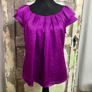 Violet & Claire ruffle sleeve short sleeve